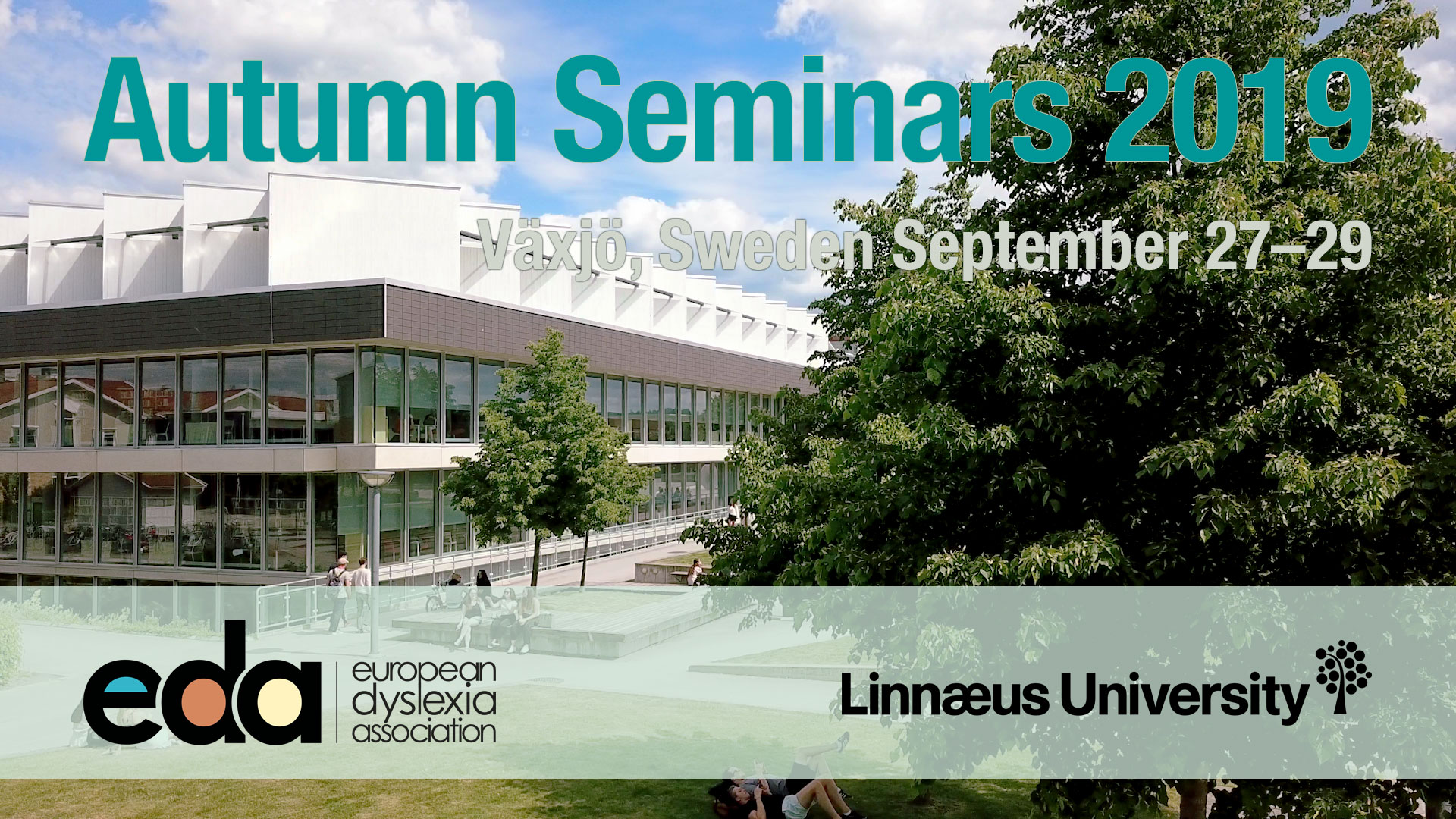 The logo image of the Autumn Seminars, showing the University library.